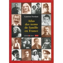 Atlas des noms de famille en France - Laurent Fordant
