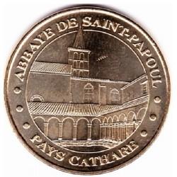 11 - Pays Cathare - Abbaye de Saint-Papoul - 2008