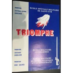 Ecole spéciale militaire de Saint-Cyr - Triomphe - 1986