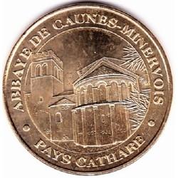 11 - Pays Cathare - Abbaye de Caunes-Minervois - 2008