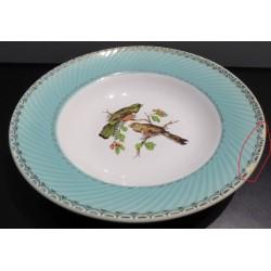 Assiette creuse oiseaux - Vintage