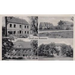 Carte postale - Gruss aus Rosenau