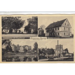 Carte postale - Gruss aus Rosenau - Kreis Liegnitz