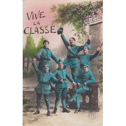 Carte postale - Vive la classe