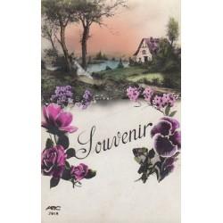 Carte postale - Souvenir