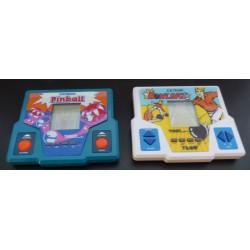 Lot de deux jeux électronique vintage