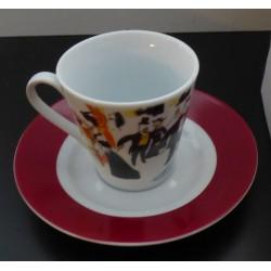 """Service à café """"Maxim's"""" vintage"""