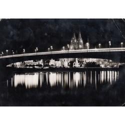 Carte postale - KÖLN am Rhein, Festbeleuchtung