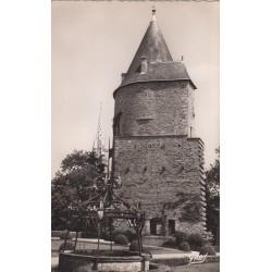 Carte postale - Josselin - Le puits et la tour isolée du chateau