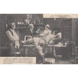 Carte postale - Autour des lits clos - L'accident (4)