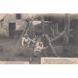 Carte postale - Autour des lits clos - L'accident (3)
