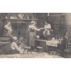 Carte postale - Autour des lits clos - L'accident (5)