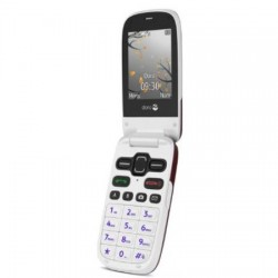 Doro - PhoneEasy 621 - Téléphone portable - Bluetooth - Bordeaux