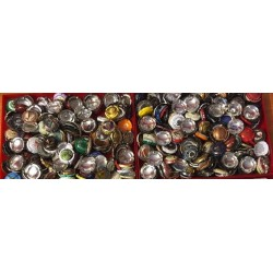 Lots de capsules de champagne diverses et variées vendues au poids - prix dégressifs suivant poids