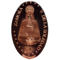 Esp -Zamora - Virgen de la Soledad - cuivre