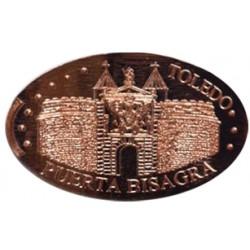 Esp - Toledo - Puerta Bisagra - cuivre