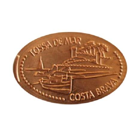 Esp - Girona - Tossa de Mar - Costa Brava - cuivre