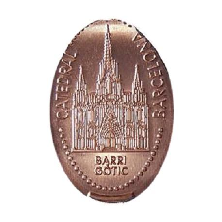 Esp - Barcelona - BARRI GÒTIC - Catedral - cuivre