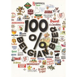 Carte postale - 100% Belgian Beer