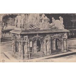 Carte postale - Eglise de Brou - Mausolée de Philibert le beau