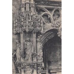 Carte postale - Eglise de Brou - Figure du mausolée de Marguerite