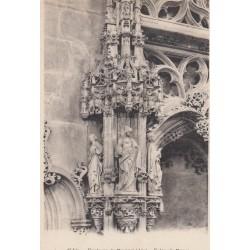 Carte postale - Eglise de Brou - Détail du mausolée de Marguerite de bourbon