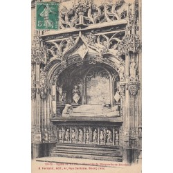 Carte postale - Eglise de Brou - Mausolée de Marguerite de Bourbon