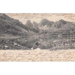 Carte postale - Lac d'Allos - Vue générale