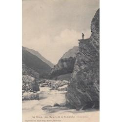 Carte postale - La Grave - Les gorges de la Romanche