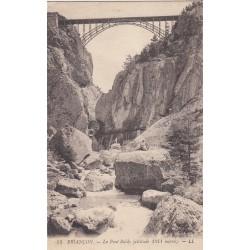 Carte postale - Briançon - Le pont Baldy