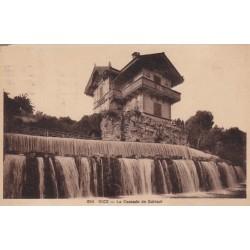 Carte postale - Nice - La cascade de Gairaut