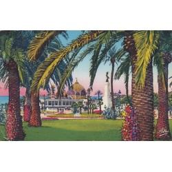 Carte postale - Nice - Le jardin Albert 1er - ses palmiers
