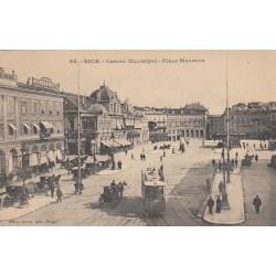 Carte postale - Nice - Casino municipal - Place Massena