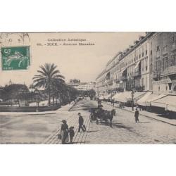 Carte postale - Nice - Avenue Massena