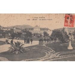 Carte postale - Nice - Le jardin public