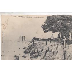 Carte postale - Cannes - Château - Île St Honorat