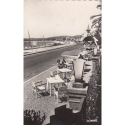 Carte postale - Cros de Cagnes - Le boulevard de la plage