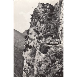 Carte postale - Duranus - Saut des français