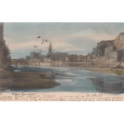 Carte postale - Le Pouzin - Lavandières de l'Ouvèreze