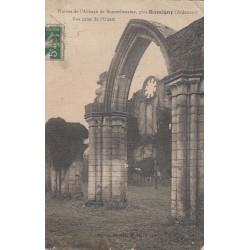 Carte postale - Ruines de l'abbaye de Bonnefontaine