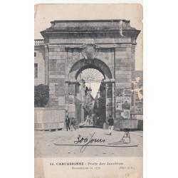 Carte postale - Carcassonne - Porte des Jacobins