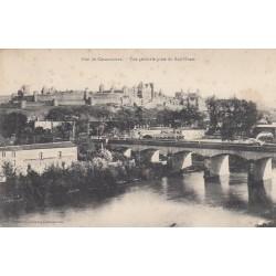Carte postale - Cité de Carcassonne - Vue générale prise du Sud-Ouest