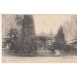 Carte postale - Carcassonne - Square Gambetta - Le kiosque