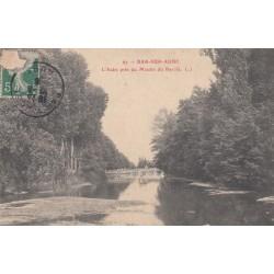 Carte postale - Bar sur Aube - L'Aube près du Moulin du bas