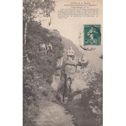 Carte postale - Vallée de la Meuse - Chateau-Régnault-Bogny