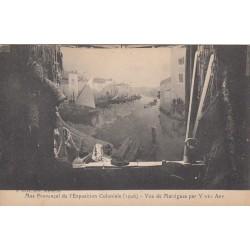 Carte postale - Mas provençal de l'exposition coloniale (1906) - Vue de Martigues