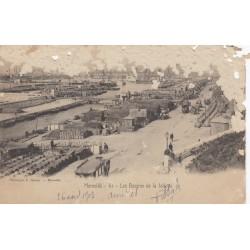 Carte postale - Marseille - Les bassins de la Joliette