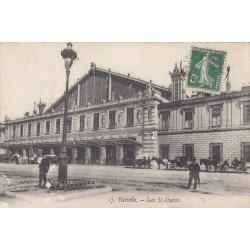 Carte postale - Marseille - Gare St-Charles
