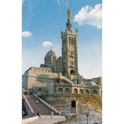 Carte postale - Marseille - Basilique Notre Dame de la Garde