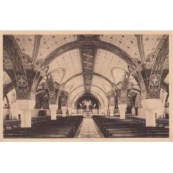 Carte postale - Lisieux - La basilique - La crypte